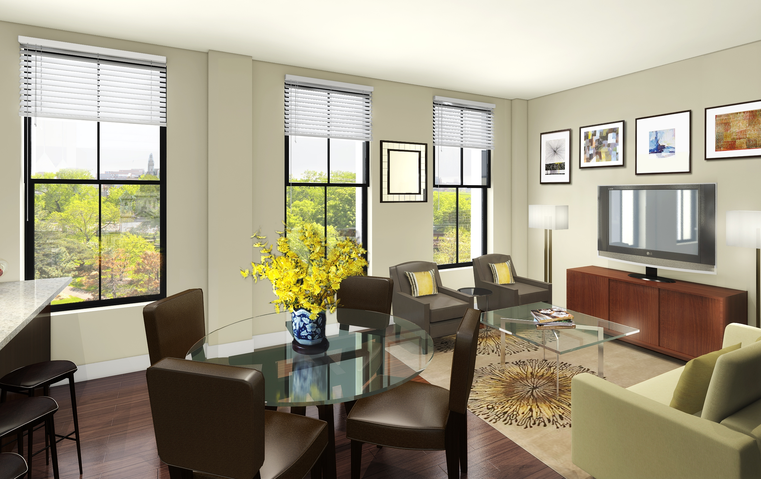 Elegant Home Living Room Gallery   3D House Designs   Veerle.us Good Ideas